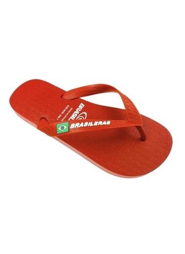 Brasileras Terlik Kırmızı